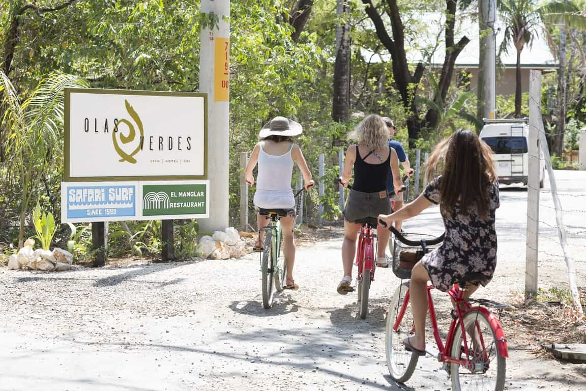 Bicycles in Guiones