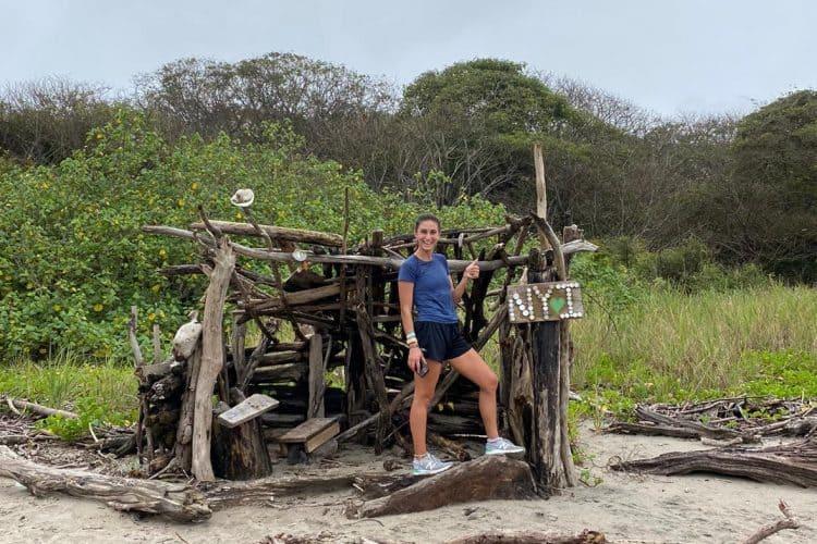 Playa Guiones in Nosara, untouched