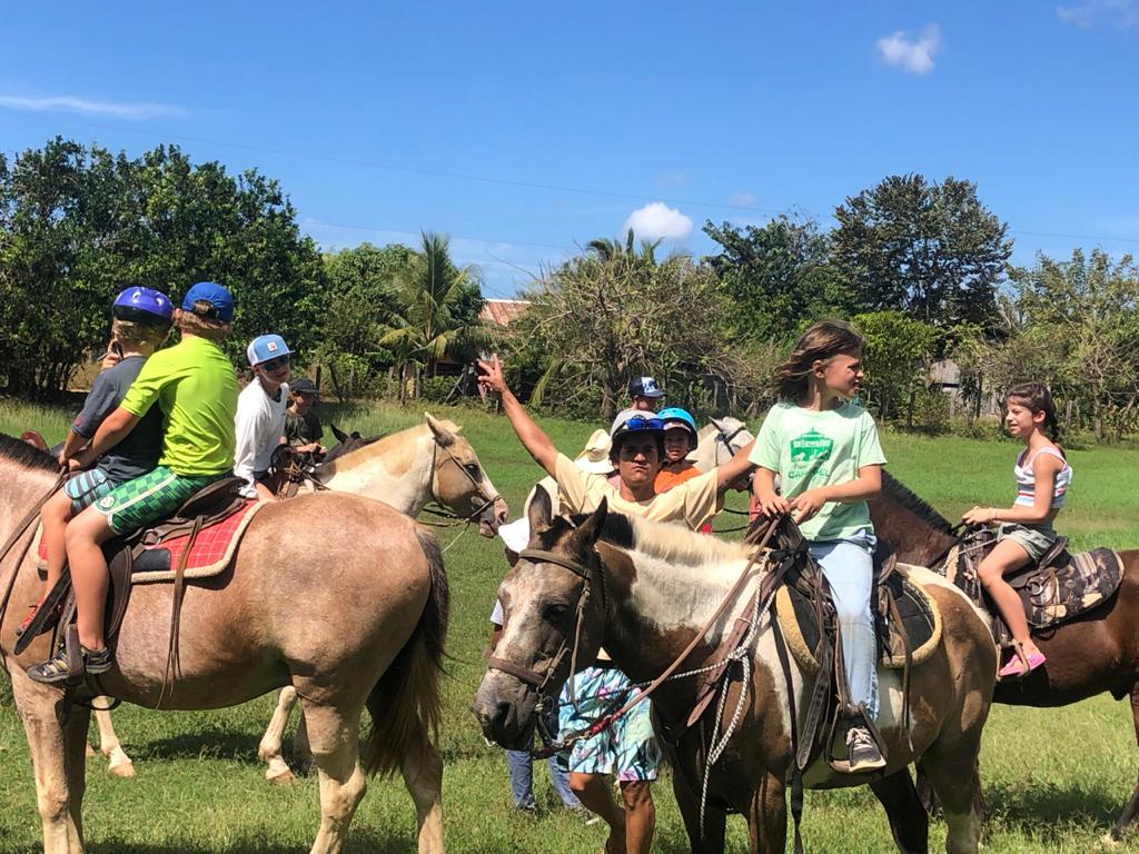 horseback riding in Nosara